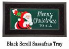 Sassafras Santa Claus Switch Doormat - 10 x 22