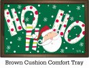 Indoor & Outdoor Santa Says MatMate Doormat-18x30
