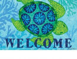 Indoor & Outdoor Sea Turtle Insert Doormat - 18x30