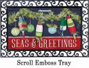 Indoor & Outdoor Seas & Greetings MatMates Doormat-18x30