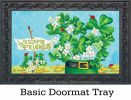 Indoor & Outdoor Shamrocks & Ladybugs MatMate Doormat