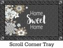 Indoor & Outdoor Simply Floral Home MatMate Doormat - 18x30