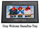 Sassafras Sipping Away the Cold Switch Doormat - 10 x 22