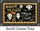 Indoor & Outdoor Skeleton Halloween MatMate Insert Doormat