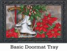 Indoor & Outdoor Sled & Skates MatMate Doormat-18x30