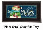 Sassafras Snow Country Switch Doormat - 10 x 22