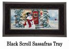 Sassafras Snow Place Like Home Switch Doormat - 10 x 22