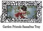 Sassafras Snowman Snuggles Switch Doormat - 10 x 22