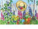 Indoor & Outdoor Springtime Beauty MatMate Doormat-18x30