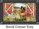 Indoor & Outdoor Spring on the Farm Insert Doormat - 18x30