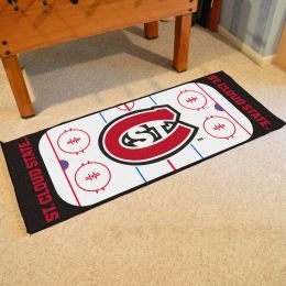 St. Cloud State  Huskies Rink Runner Mat - 29x72