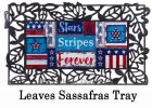 Sassafras Stars and Stripes Mat - 10x22 Insert Doormat