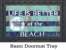 Indoor & Outdoor Stries & Sand Dollar MatMates Doormat