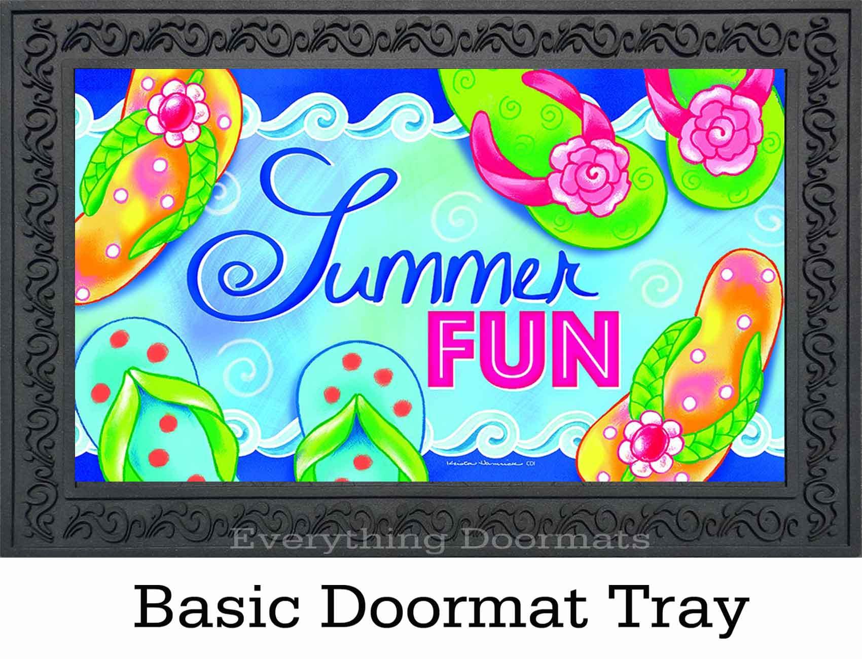 Indoor Amp Outdoor Summer Fun Insert Doormat 18 X 30