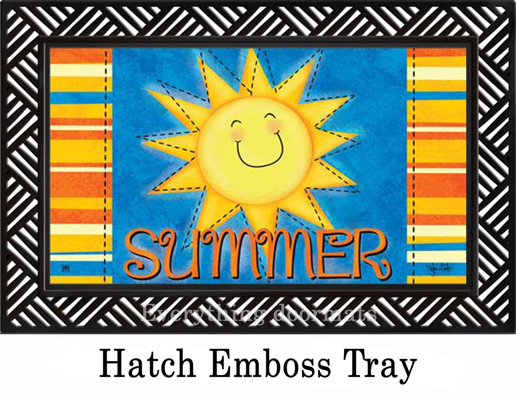 Indoor Amp Outdoor Summer Sun Matmate Insert Doormat 18x30