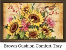 Indoor & Outdoor Sunflower Mix MatMates Doormat - 18 x 30
