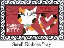 Indoor & Outdoor Sweet Kitty MatMate Doormat-18x30