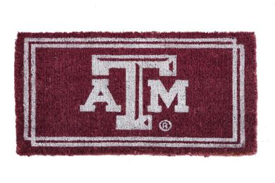 Texas A&M Aggies Coir Coco Floor Mat - Doormat