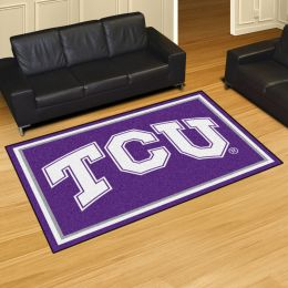 Texas Christian University Horned Frogs Area Rug – 5 x 8