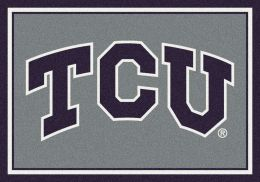 Texas Christian University Nylon Spirit Area Rug