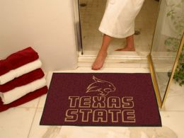"Texas State University Bobcats All Star Area Mat - 34"" x 44.5"""