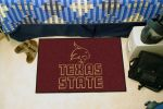 "Texas State University Bobcats Starter Door Mat - 19"" x 30"""