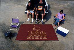 "Texas State University Outdoor Ulti-Mat - Nylon Carpet 60"" x 96"""