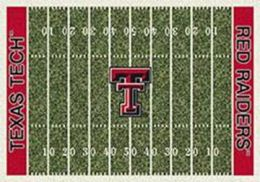 TTU Red Raiders Home Field Nylon Area Rug