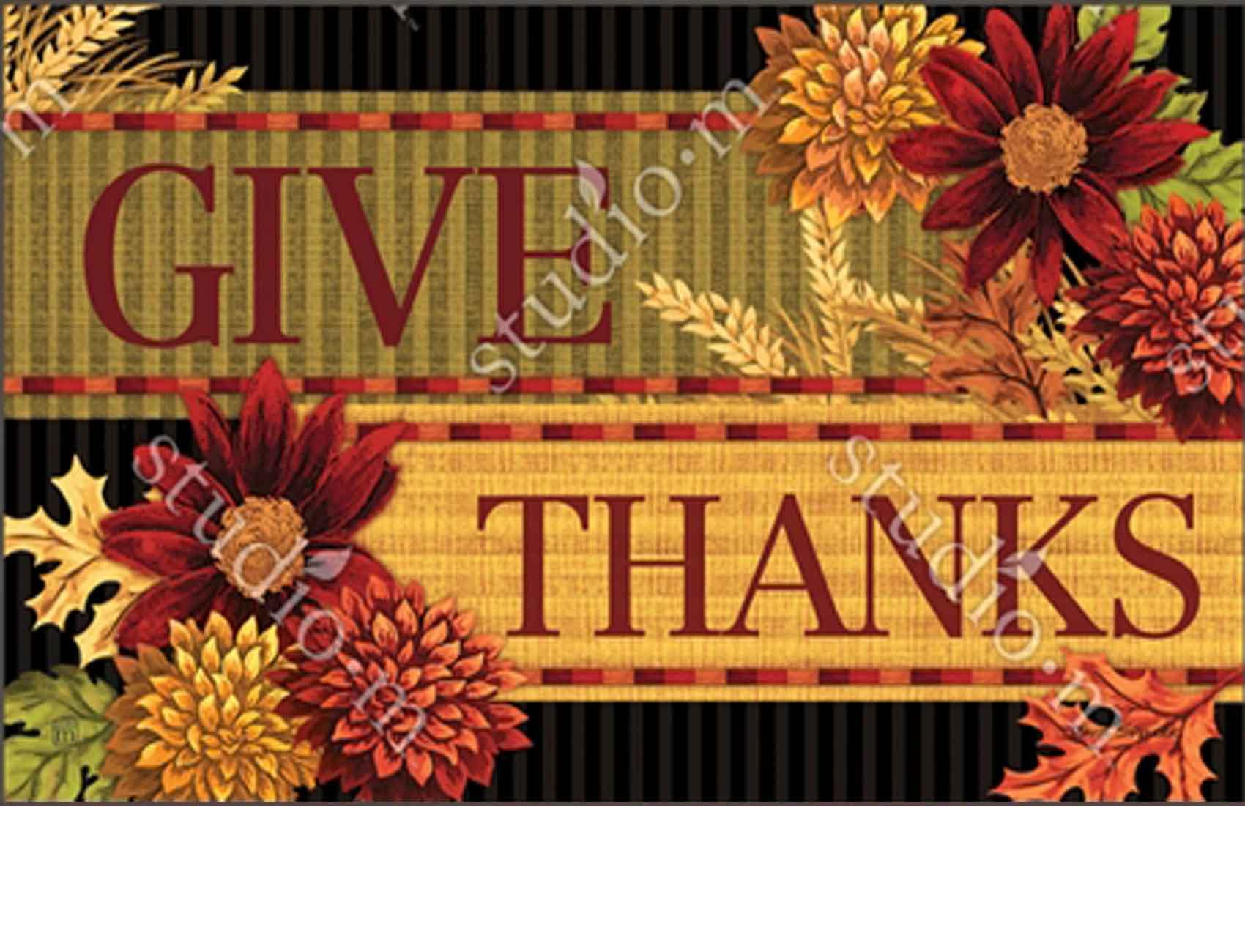 Indoor Amp Outdoor Thankful Turkey Matmates Doormat 18x30