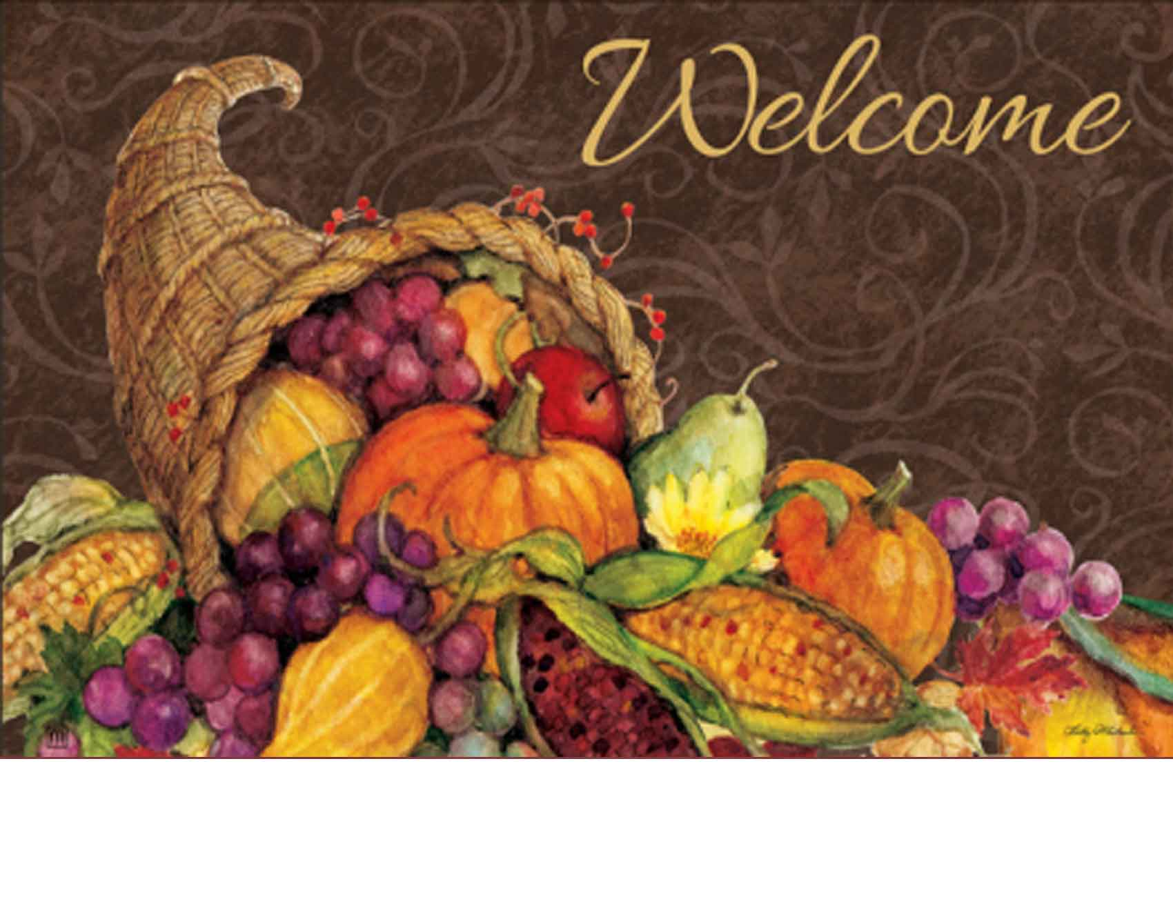 Indoor Amp Outdoor Thanksgiving Harvest Matmates Doormat
