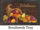Indoor & Outdoor Thanksgiving Harvest MatMates Doormat
