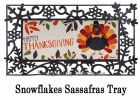 Sassafras Thanksgiving Turkey Switch Mat - 10 x 22 Doormat