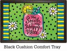 Indoor & Outdoor South Happy Place Insert Doormat-18x30