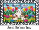 Indoor & Outdoor Three Bunnies Insert Doormat - 18x30