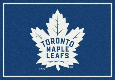 Toronto Maple Leafs Spirit Area Rug - NHL Hockey Logo