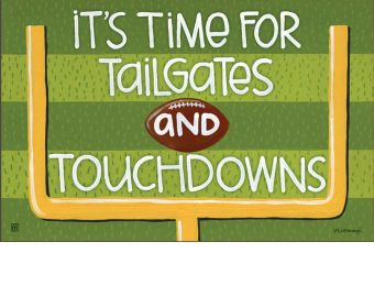 Indoor & Outdoor Touchdown MatMate Doormat-18x30