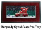 Sassafras Tree Lot Plaid Joy Switch Doormat - 10 x 22