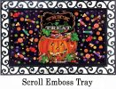 Indoor & Outdoor Trick or Treat Insert Doormat - 18x30