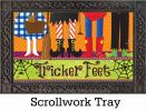 Indoor & Outdoor Tricker Feet MatMate Insert Doormat-18x30