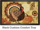 Indoor & Outdoor Turkey Time MatMates Doormat - 18 x 30