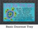 Indoor & Outdoor Turtle by the Sea MatMates Doormat - 18x30