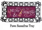 Sassafras Uncork and Unwind Switch Doormat - 10 x 22 Insert