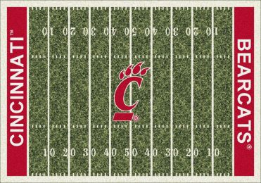 UC Bearcats Home Field Nylon Area Rug