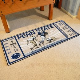 Pennsylvania State Nittany Lions Ticket Runner Mat - 29.5 x 72