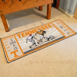 Tennessee Volunteers Ticket Runner Mat - 29.5 x 72