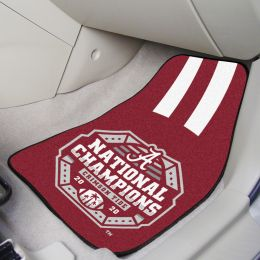 Alabama Carpet Car Mat Set - 2020-21 BCS Championship