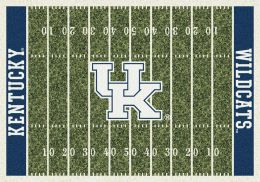 Kentucky Wildcats Home Field Area Rug - Football Logo