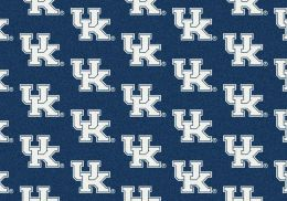 Kentucky Wildcats Repeat Logo Area Rug - College Mat