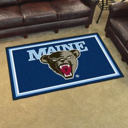 University of Maine Black Bears Area Rug – Nylon 5' x 8'