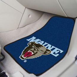 University of Maine 2pc Carpet Car Mat Set - Nylon & Vinyl